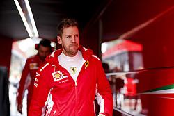 March 1, 2018 - Barcelona, Spain - Motorsports: FIA Formula One World Championship 2018, Test in Barcelona,  , #5 Sebastian Vettel (GER, Scuderia Ferrari) (Credit Image: © Hoch Zwei via ZUMA Wire)