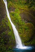 Horsetail Falls on the Columbia River Gorge, Oregon