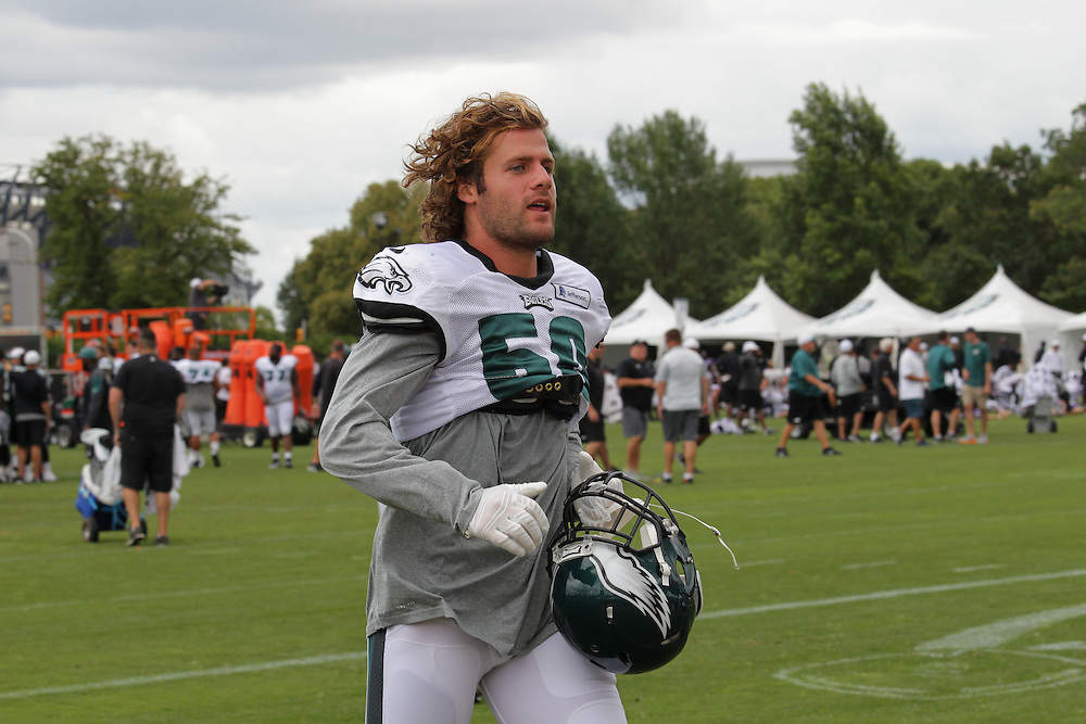 Kiko Alonso during the Philadelphia Eagles Training Camp at NCC with the Baltimore Ravens