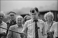 Day Tripper - FARNDALE SHOW  is a street photography series by photographer Paul Williams taken in the North Yorks Moors England in summer 1986.