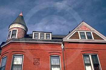 Harrisburg, PA, Allison Hill, Cityscapes, Unique Architecture Detail
