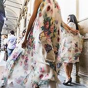 Secondo giorno della settimana della moda 2010 a Milano.<br /> Sfilata della stilista Beccaria persso l'accademia di Brera<br /> <br /> Second day of the Milan fashion week.<br /> The fashion show of the Beccaria stylist in Brera Academy.