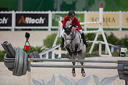 Ludger Beerbaum, (GER), Chiara 222 - Jumping Second Round Team Competition - Alltech FEI World Equestrian Games™ 2014 - Normandy, France.<br /> © Hippo Foto Team - Dirk Caremans<br /> 04/09/14