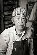 Yoshikazu Ikeda Forged Knife Master Craftsman, Sakai, Osaka Prefecture, Japan