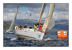 The Brewin Dolphin Scottish Series, Tarbert Loch Fyne..Day 1 Bright conditions on Loch Fyne...Class 5 GBR8930T Shadowfax Oban SC First 31.7 Billy Forteith.Credit : Marc Turner / PFM.