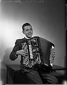 1959 - Pól de Broc (Paul Brock) accordionist from Athlone