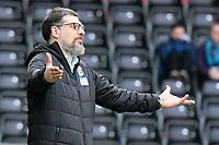 Football - 2019 / 2020 Sky Bet (EFL) Championship - Swansea City vs. West Bromwich Albion<br /> <br /> WBA manager Slaven Bilic on the touchline, at The Liberty Stadium.<br /> <br /> COLORSPORT/WINSTON BYNORTH