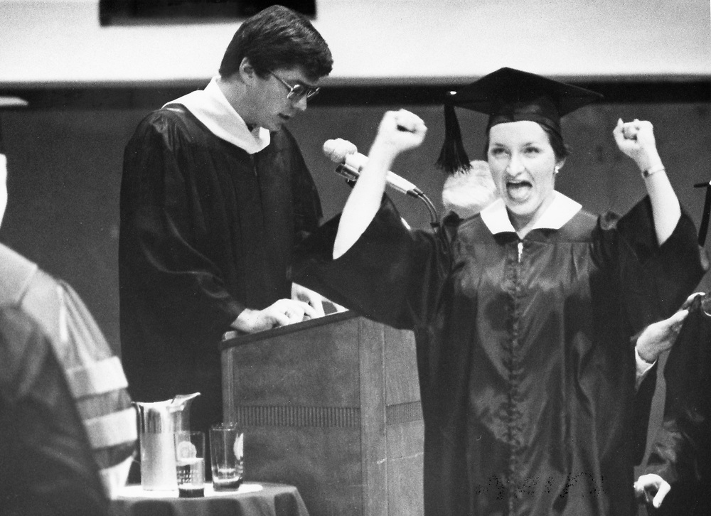 ©1978  Texas A&M University graduation ceremonies.