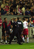 World Cup Qualification Match. Norway - Wales. September 5 2001. Ullevaal Stadion Oslo, Norway. Ryan Giggs got the red card. (Photo: Peter Tubaas/Digitalsport)