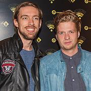 NLD/Amsterdam/20151111 - Uitreiking Radioring 2015, Mattie Valk en Wietze de Jager (R
