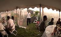 Taste of the Farm dinner by Moulton Farm Tuesday, August 16, 2011.
