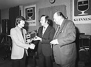 Presentation of Guinness/Garda Club Prizes..14.10.1979  14th October 1979