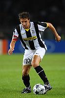 Fotball<br /> Italia<br /> Foto: Inside/Digitalsport<br /> NORWAY ONLY<br /> <br /> Alessandro Del Piero (Juventus)<br /> <br /> 17.09.2008<br /> UEFA Champions League<br /> Juventus v Zenit St Petersburg (1-0)