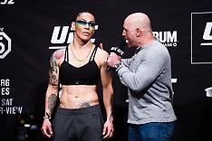 Ceremonial Weigh-Ins for UFC 232 - 28 December 2018