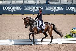 Dujardin Charlotte, GBR, Mount St John Freestyle<br /> World Equestrian Games - Tryon 2018<br /> © Hippo Foto - Dirk Caremans<br /> 13/09/18