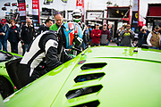 January 24-28, 2018. IMSA Weathertech Series ROLEX Daytona 24. 19 GRT Grasser Racing Team, Lamborghini Huracan GT3, Christopher Lenz