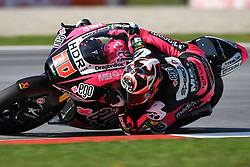 August 12, 2018 - Spielberg, Austria - 20 French driver Fabio Quartararo of Team Speed Up Racing race during warm up of Austrian MotoGP grand prix in Red Bull Ring  in Spielberg, on August 12, 2018. (Credit Image: © Andrea Diodato/NurPhoto via ZUMA Press)