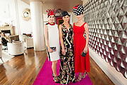 Catwalk models  Gayle Kelly,  Tirna Slevin, Kelly McGrath,  in the g hotel for the launch of The Galway Races 2016 Summer Festival which runs from the 25th of July to the 31st of July in Galway City. Photo: Andrew Downes :