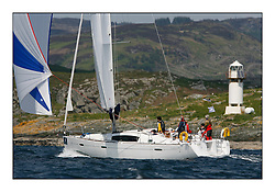 Bell Lawrie Scottish Series 2008. Fine North Easterly winds brought perfect racing conditions in this years event...CYCA Class 6 GBR1566L, Insatiable, John Rose, CCC, Oceanis 40
