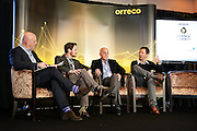 Keith Wood hosts a panel discussion with Dr Richard Simpson, Prof Carlo Brugnara & Dr Nathan Lewis at the Orreco Science Summit, Glenlo Abbey Hotel, Galway, 25.10.16