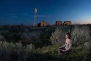 American  Dreamscapes / Homestead II<br /> <br /> Shaniko, Oregobn, USA, 2013