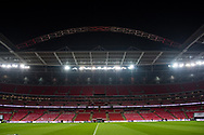 General shot of the stadium before the Friendly match between England and Germany at Wembley Stadium, London, England on 10 November 2017. Photo by Sebastian Frej.