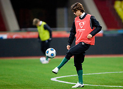 Rene Krhin at practice of Slovenian team a day before FIFA World Cup 2010 Qualifying match between Russia and Slovenia, on November 13, 2009, in Stadium Luzhniki, Moscow, Russia.  (Photo by Vid Ponikvar / Sportida)