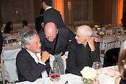 ANISH KAPOOR; RICHARD LONG, Lisson Gallery dinner, Banqueting House. London. 15 October 2013