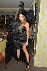JULIET ANGUS at the Bumpkin Halloween Dinner hosted by Marissa Hermer held at Bumpkin, 119 Sydney Street, London on 23rd October 2014.