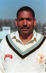 Undated file photo of England cricketer Phillip DeFreitas