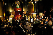 NICKY HASLAM,, Nicky Haslam with pianist Paul Guinery performing songs by Cole Porter, Irving Berlin, Rogers and Hammerstein  and others at th BEAUFORT BAR? SAVOY- 8.P.M.