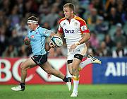 Gareth Anscombe. Waratahs v Chiefs. 2013 Investec Super Rugby Season. Allianz Stadium, Sydney. Friday 19 April 2013. Photo: Clay Cross / photosport.co.nz
