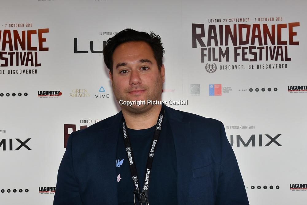 Director Richard Raymond attend 'Souls of Totality' film at Raindance Film Festival 2018, London, UK. 30 September 2018.