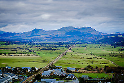 View from the ramparts of Harlech Castle, North Wales<br /> <br /> (c) Andrew Wilson | Edinburgh Elite media