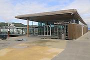 Ferry boat terminal building, Hurtigbatterminal, city of Trondheim  Norway