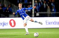 Fotball , 29 . oktober 2017 , Eliteserien , <br /> Sarpsborg - Sandefjord 5-0<br /> <br /> Kristoffer Normann Hansen , Sarpsborg