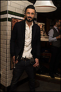 OWAIS KHAN, Cahoots club launch party, 13 Kingly Court, London, W1B 5PW  26 February 2015
