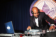 January 21, 2013-Washington, DC- DJ D-Nice, Master of Ceremonies attends the Official 2013 White House Inaugural Ball held at the Washington Convention Center on January 21, 2013 in Washington, D.C. The 57th Presidential Inauguration celebrates the beginning of the second term of President Barack H. Obama. (Terrence Jennings)