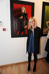 ANTONIA BARCLAY at a private view of Georgina Barclay's work entitled 'Loves & Curiosities' held at the Air Gallery, Dover Street, London on 17th November 2009