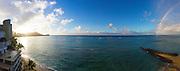 Diamond Head, Waikiki Beach, Oahu, Hawaii