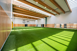 KIRKBY, ENGLAND - Thursday, August 13, 2020: An image of the players' sports hall at Liverpool FC's new traing ground in Kirkby which will be sponsored by AXA and known as the AXA Training Centre. (Pic by Liverpool FC via Propaganda)
