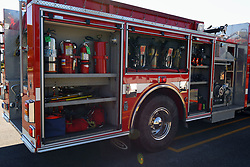 The annual Chief Del Thomas Fire Truck Parade