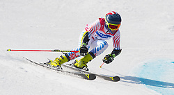 March 14, 2018 - Pyeongchang, South Korea - Thomas Walsh of the US during Giant Slalom competition Wednesday, March 14, 2018 at the Jeongson Alpine Center at the Pyeongchang Winter Paralympic Games. Photo by Mark Reis (Credit Image: © Mark Reis via ZUMA Wire)