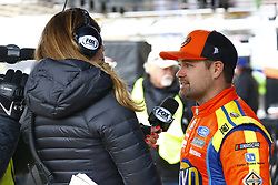 April 7, 2018 - Ft. Worth, Texas, United States of America - April 07, 2018 - Ft. Worth, Texas, USA: Ricky Stenhouse, Jr (17) hangs out in the garage during practice for the O'Reilly Auto Parts 500 at Texas Motor Speedway in Ft. Worth, Texas. (Credit Image: © Chris Owens Asp Inc/ASP via ZUMA Wire)