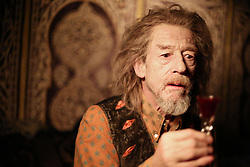 January 27, 2017 - File - Hollywood legend JOHN HURT, Two-time Oscar nominee and Elephant Man actor dead at age 77 after battling cancer and suffering intestinal complaint. The Elephant Man star had a career which spanned more than six decades. Hurt had recently starred in the Oscar nominated biopic, Jackie. The English actor was born in Derbyshire and became a critical and commercial success in films like Midnight Express, Alien and Tinker Tailor Soldier Spy. Pictured:  Feb. 4, 2014 - Hollywood, USA - Only Lovers Left Alive (2013)..John Hurt..Jim Jarmusch (Dir)..  (Credit Image: © face to face/Entertainment Pictures/ZUMAPRESS.com)