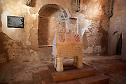 Chapel Saint Mary, Capella de Santa Maria,  Castle of Xàtiva or Jativa, Valencia province, Spain