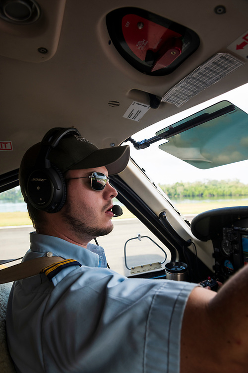 Josh Verdonck, a pilot for Ethnos360 Aviation, readies his Quest Kodiak 100 for take-off in Madang, Papua New Guinea.<br /> <br /> (June 20, 2019)