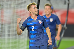 January 27, 2019 - Glendale, AZ, USA - Glendale, AZ - Sunday January 27, 2019: The men's national teams of the United States (USA) and Panama (PAN) play in an international friendly game at State Farm Stadium. (Credit Image: © John Todd/ISIPhotos via ZUMA Wire)
