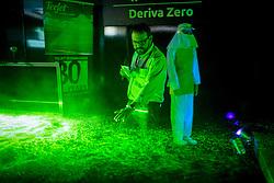 Superintendente do Senar-RS, Eduardo Condorelli, apresenta a oficina Deriva Zero a representantes do Ministério Público do Estado, durante a 42ª Expointer, que ocorre entre 24 de agosto e 01 de setembro de 2019 no Parque de Exposições Assis Brasil, em Esteio. FOTO: Joel Vargas / Agência Preview