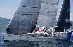 Silvers Marine Scottish Series 2017<br /> Tarbert Loch Fyne - Sailing<br /> GBR447R, Local Hero, Geoff & Norman Howison, RGYC, Beneteau 44.7<br /> <br /> Credit Marc Turner / PFM